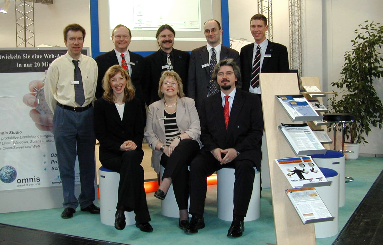 Omnis Software Germany at CeBIT
