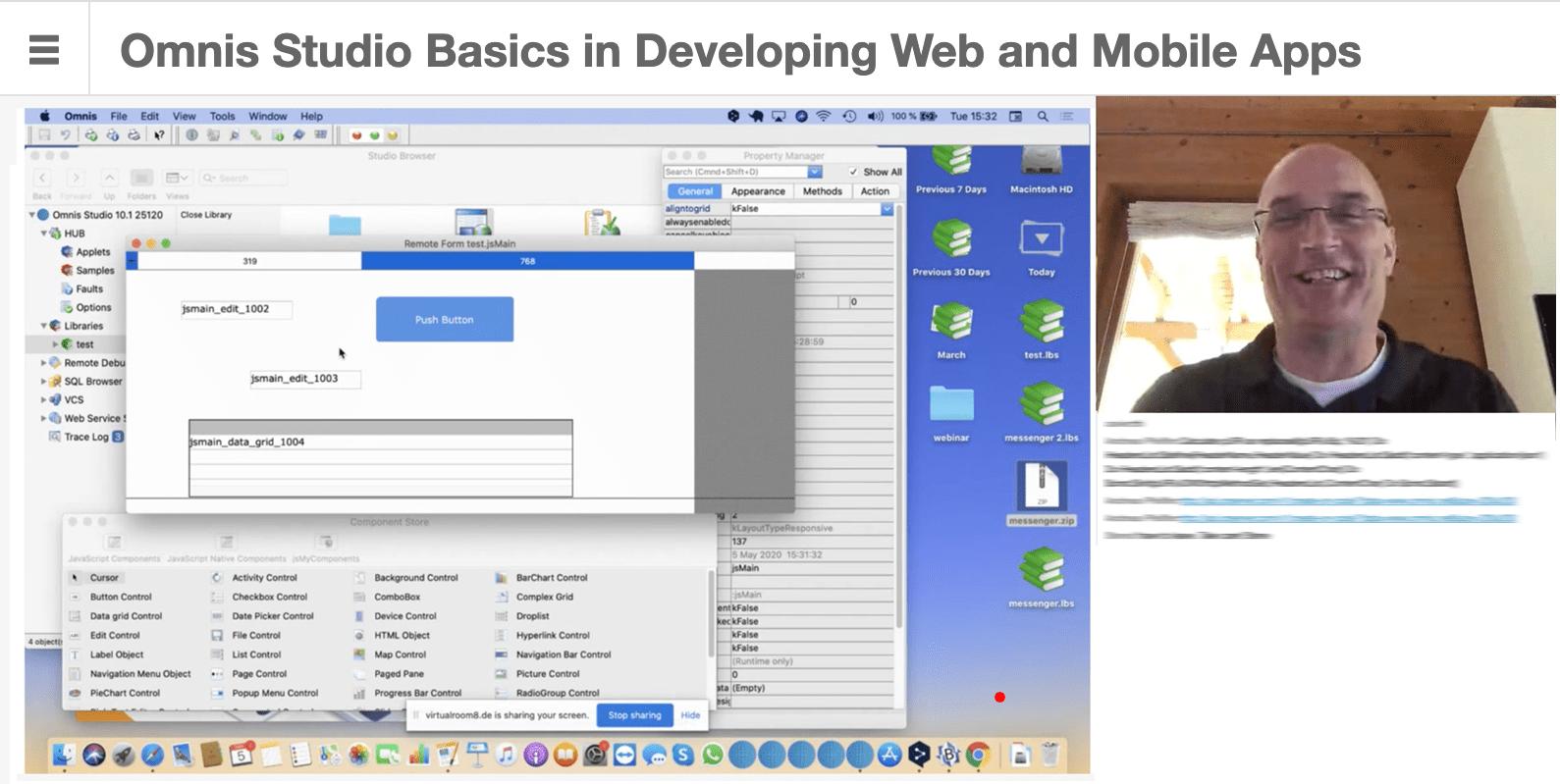 Omnis Studio Basics training course